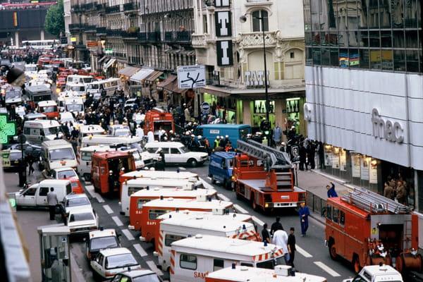 Attentat à Paris, rue de Rennes