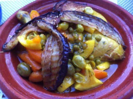 Plat : La Kasbaa chez Abdel  - Tajine poulet olives citron -