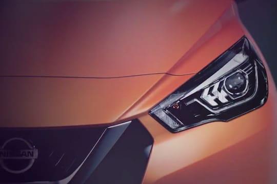 Mondial de l'Auto: Nissan dévoile de premières images de la Micra