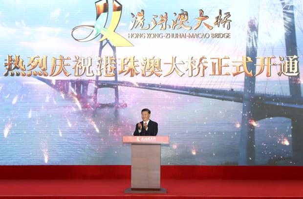 Inauguré par le président chinois