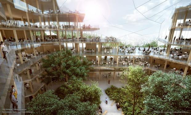 """""""Un bâtiment plus respectueux de l'environnement"""""""