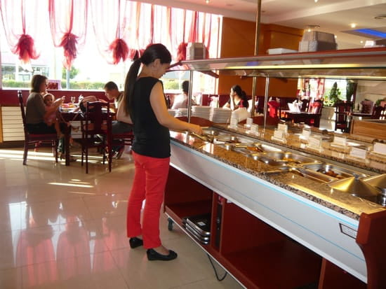 Ni Hao  - une partie du buffet -   © JLL