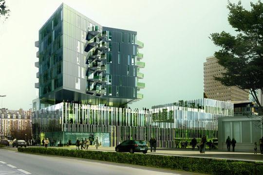 La future Cité internationale de Rennes