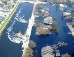 Katrina face à la Nouvelle-Orléans