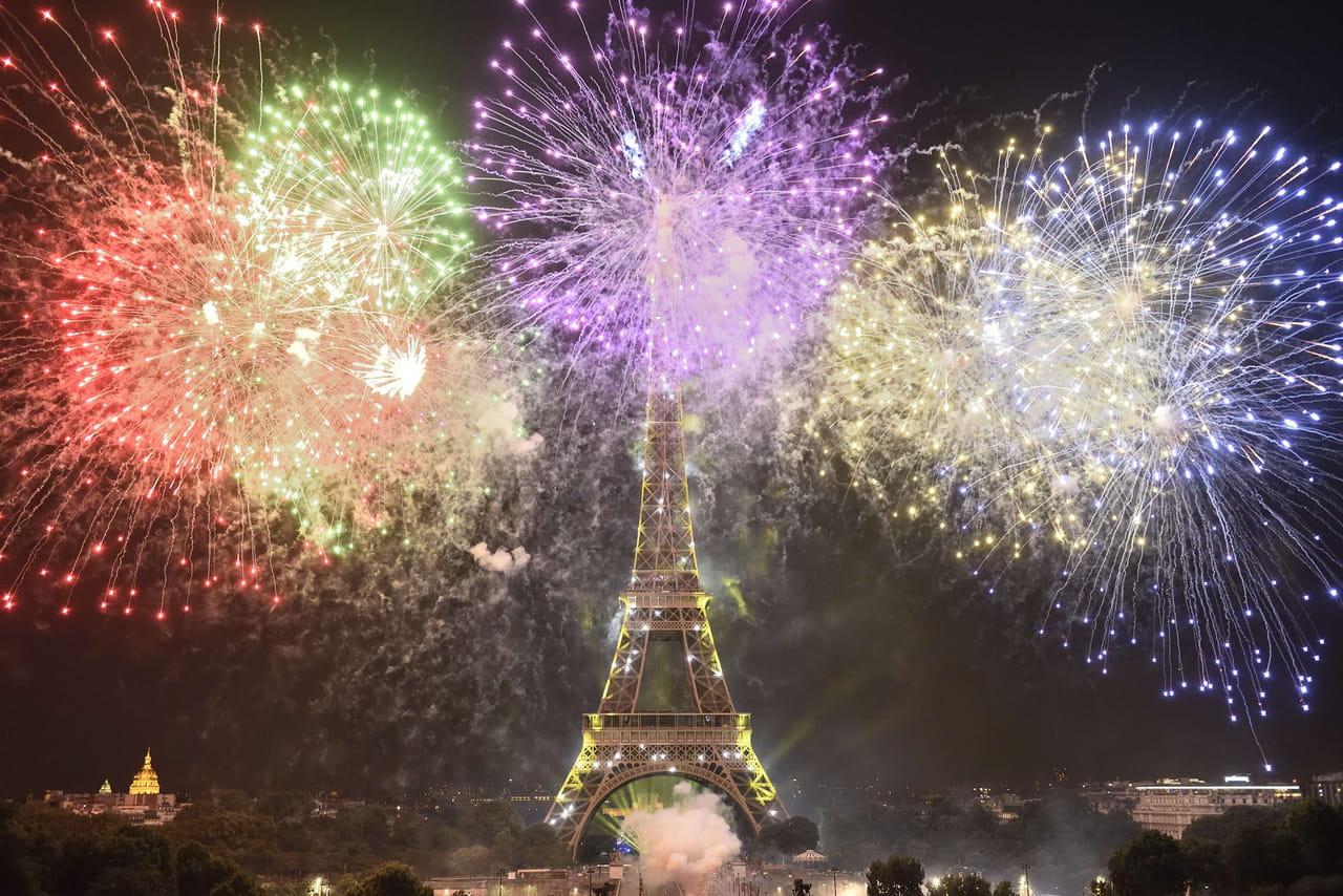 Feu d'artifice: programme du 14juillet2019à Paris, Lyon, Marseille