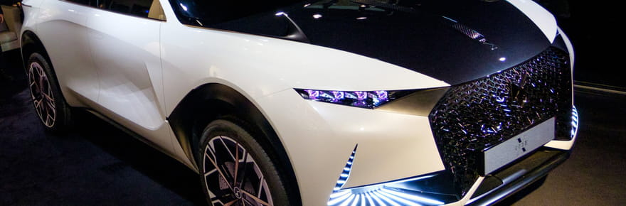 DS Code X: un nouveau concept car? Les photos du SUV inédit