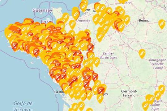 Pénurie d'essence: 800stations à sec, où trouver du carburant? [carte]
