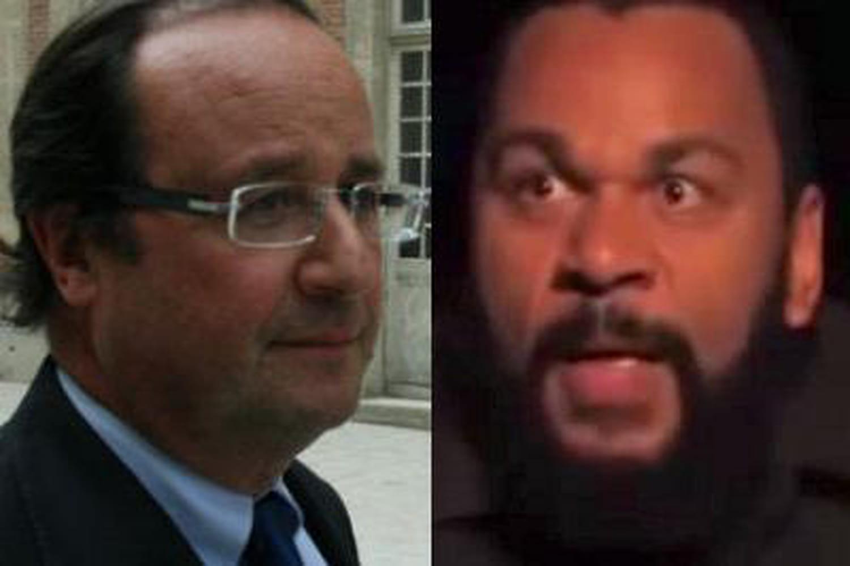 """Dieudonné: François Hollande l'accuse d'""""antisémitisme patenté"""""""