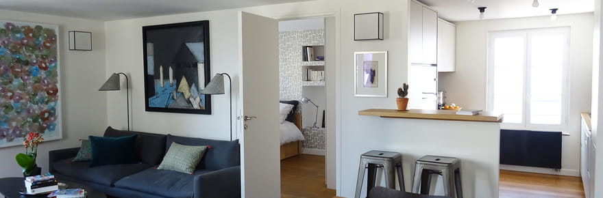 Rénovation de maison et d\'appartement : exemples d\'avant/après