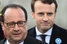 """Hollandesur Macron: """"politique brutale"""", """"croche-pied"""", le ton se durcit"""