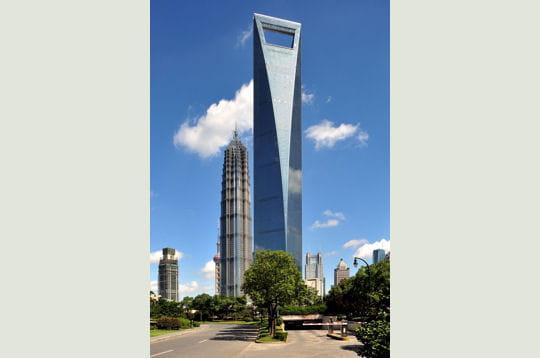 Le Shanghai World Financial Center, la plus haute tour d'Asie