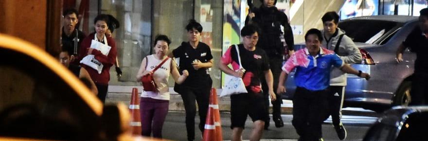 Thaïlande: un soldat abattu après une tuerie dans un centre commercial