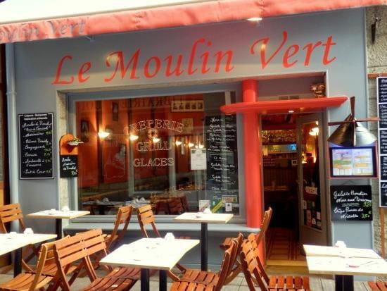 Crêperie Le Moulin Vert  - creperie le moulin vert saint malo -   © P.A