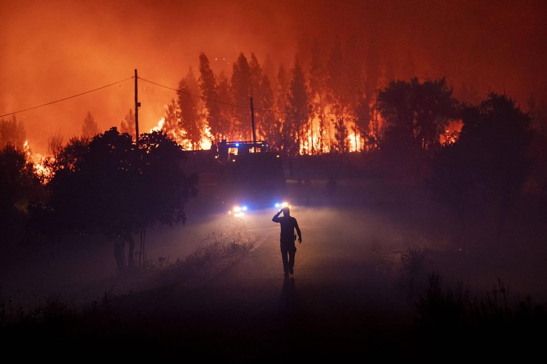 incendie portugal carte 2020 Incendie au Portugal : où en sont les feux ? Des images