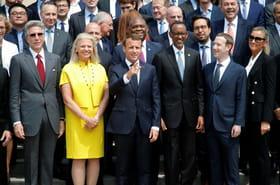 Macron réclame aux patrons de la high-tech des engagements pour le bien commun