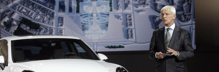 Volkswagen : Matthias Müller, un nouveau patron pour sortir de la crise