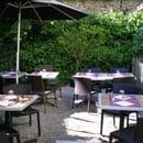 Côté Jardin - restaurant-café jardin et terrasse  - un coin du jardin -   © Côté Jardin