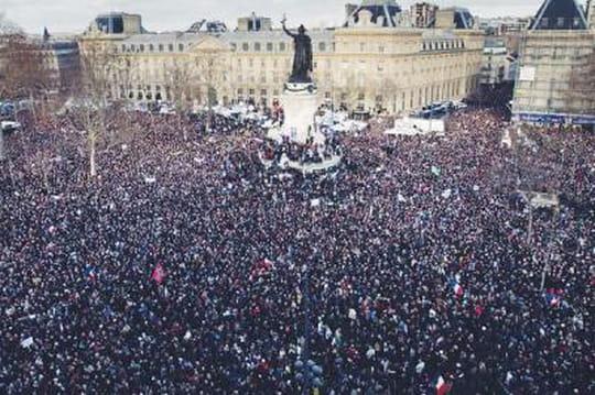 Manifestation Charlie Hebdo: les100images durassemblement àParis etailleurs