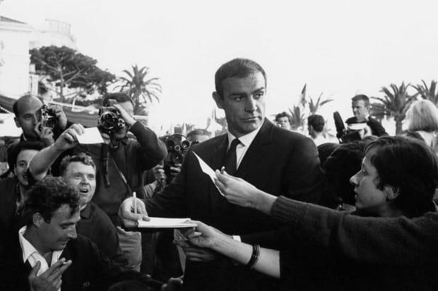 Sean Connery débarque sur la Croisette en 1965