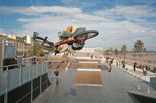 Le nouveau skate park