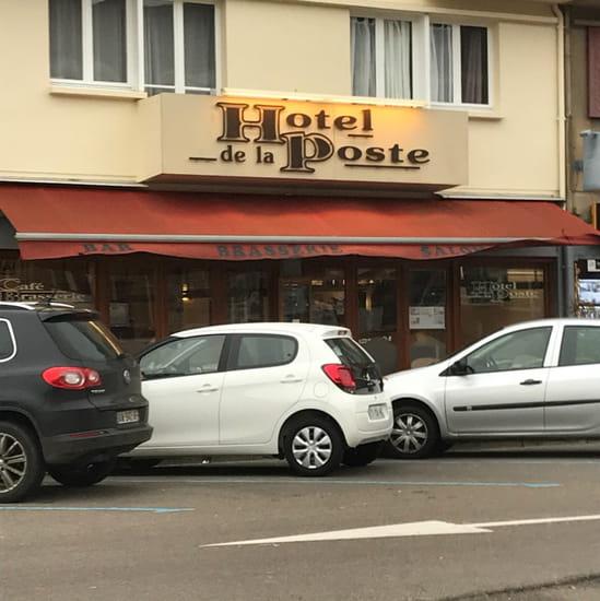 Restaurant : Hôtel de la Poste
