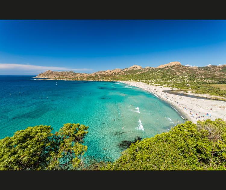 La plage de l'Ostriconi (Haute-Corse)