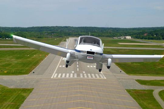 En mode avion