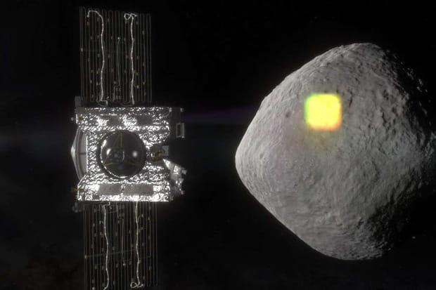 Vidéo: La NASA dévoile les images d'échantillonnage de l'astéroïde Bennu