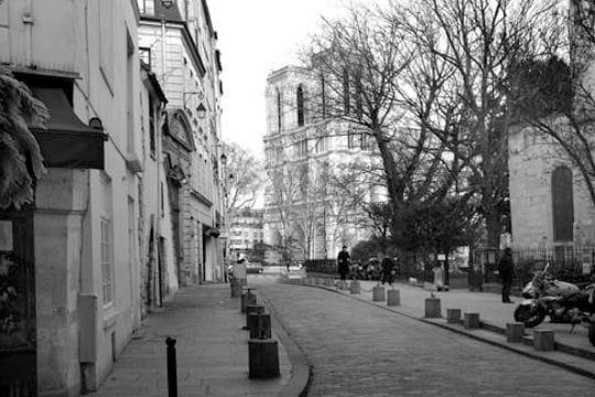 Rue Saint-Julien-Le-Pauvre d'aujourd'hui
