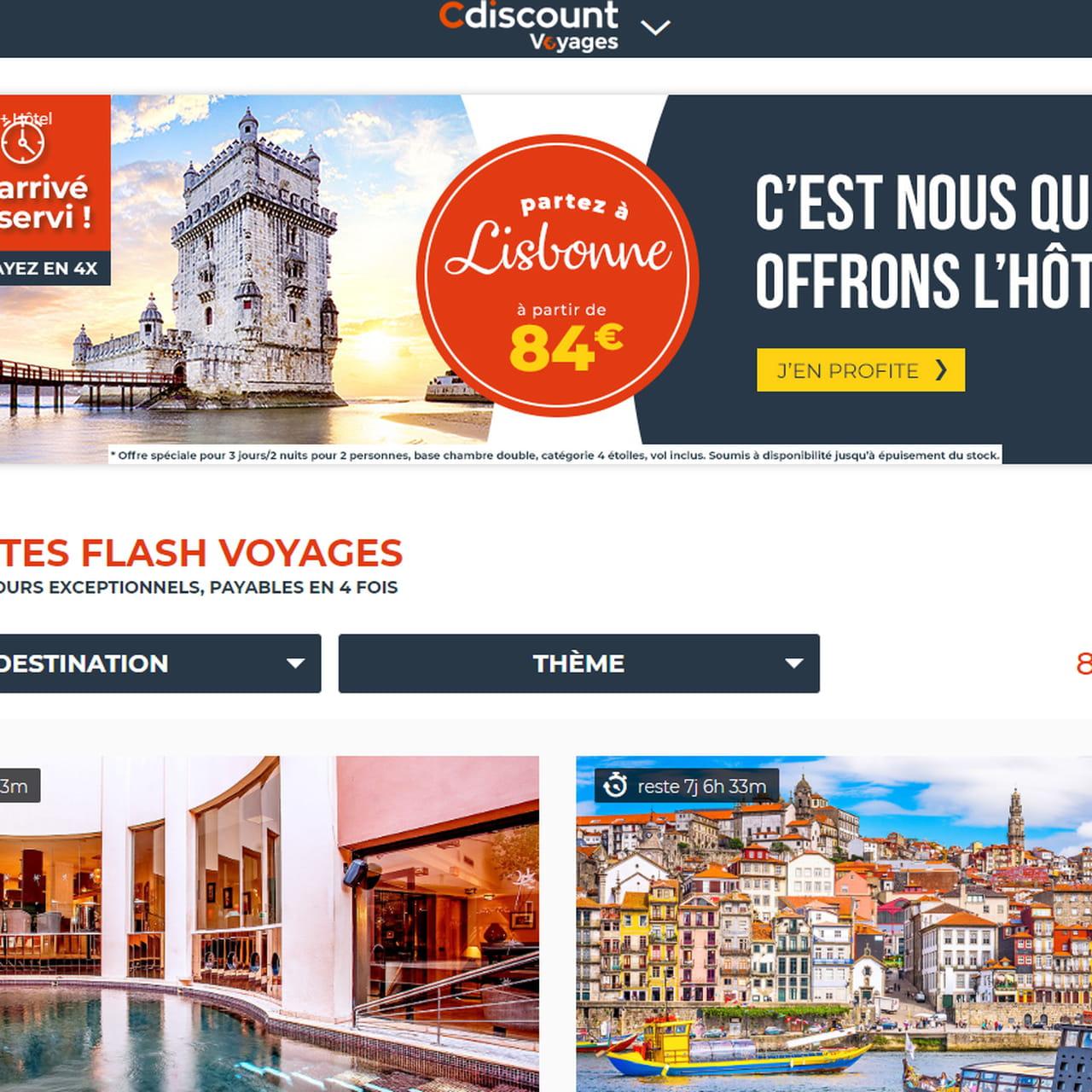 Carte De Noel Cdiscount.Cdiscount Voyages Offres Prix Est Ce Moins Cher Qu