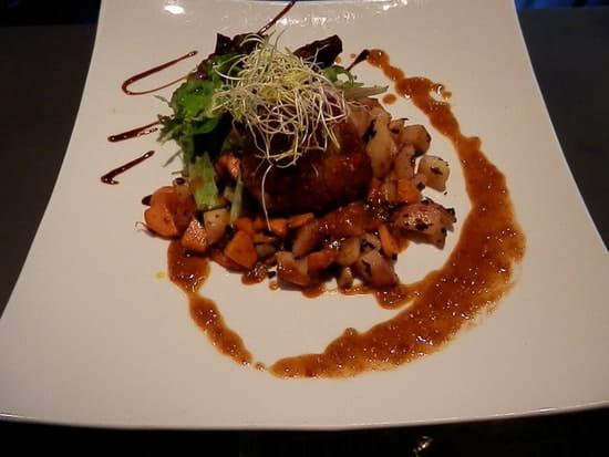 Restaurant 4 Saisons - Le Tréport  - Restaurant 4 saisons-le tréport.Granadin de veau sauce foie gras -