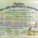 La Taverne des Deux Augustins  - cafe historique de france -