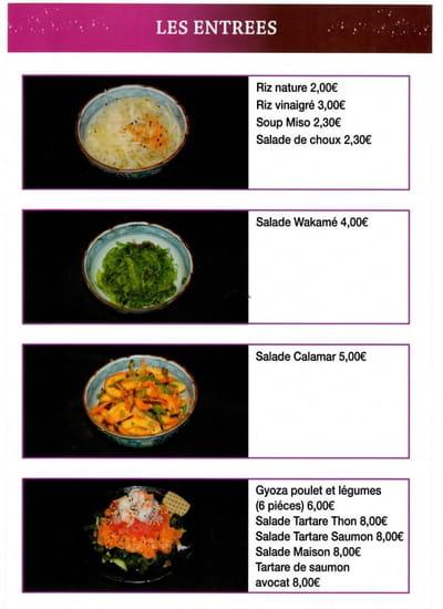 Kinoko Sushi  - Menu Page 9 -