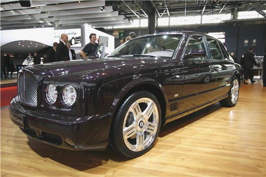Mondial de l'auto 2008: Bentley Final Series