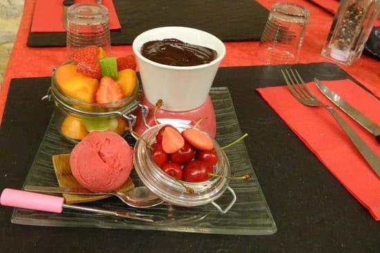 La Tendelle  - fondue au chocolat -