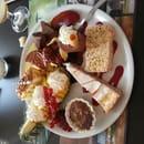 Restaurant : Au Comptoir de la Baie  - Assiette gourmande -