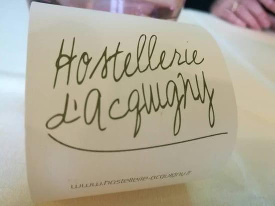 Restaurant : L'Hostellerie d'Acquigny