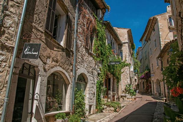 L'ambiance bohème de Saint-Paul-de-Vence