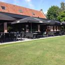 Restaurant : Le Domaine des Cigognes  - Extérieur -   © Domaine des Cigognes