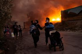 Un an après l'incendie du camp de Moria, la Grèce face aux critiques