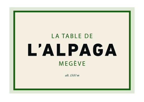 La Table de l'Alpaga   © 0
