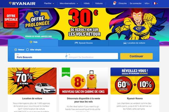 Ryanair: les promos de ce mardi 27novembre pour la Cyber Week