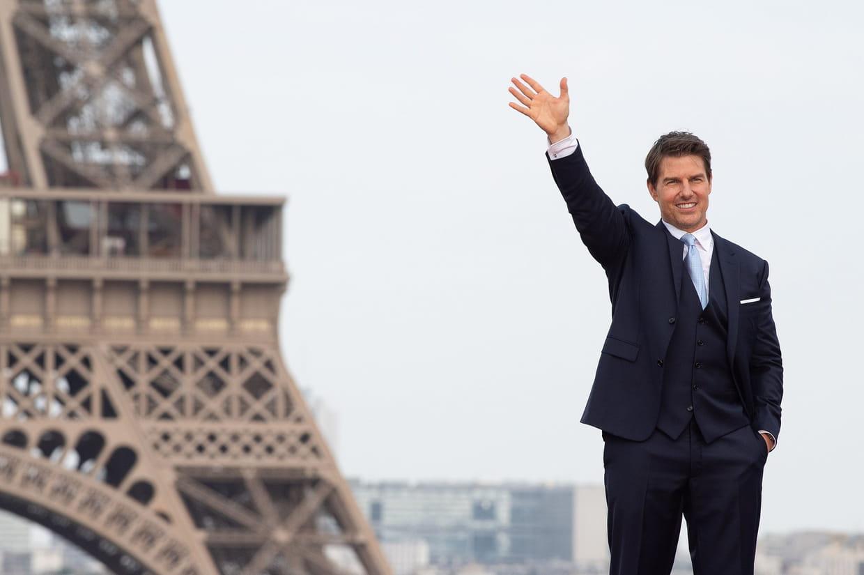 Tom Cruise en mission à Paris — Cinéma