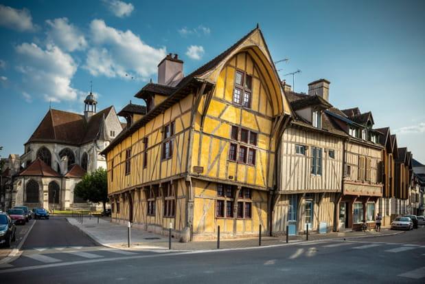 Les maisons en pans de bois