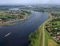 L'Elbe vu du ciel : De Hambourg à Cuxhaven