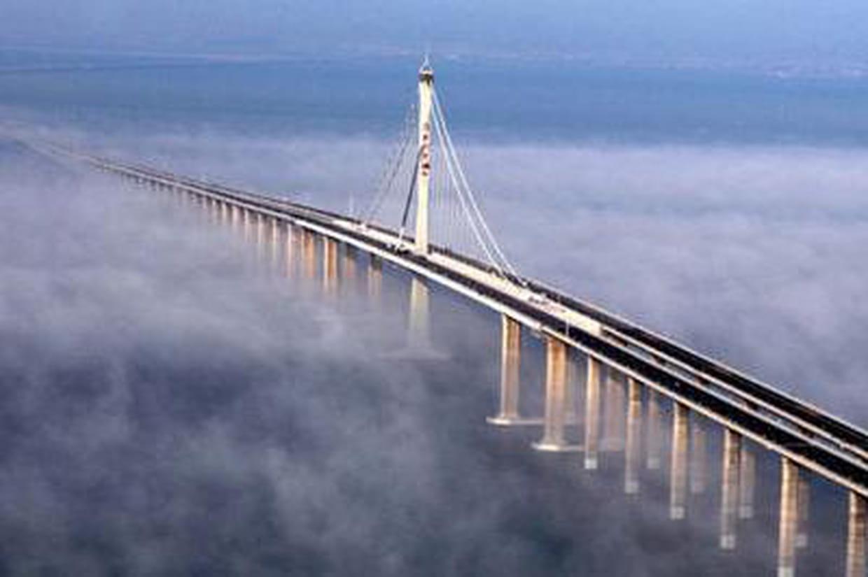 Le plus long pont du monde le pont danyang kunshan - Quel est le nom le plus porte au monde ...