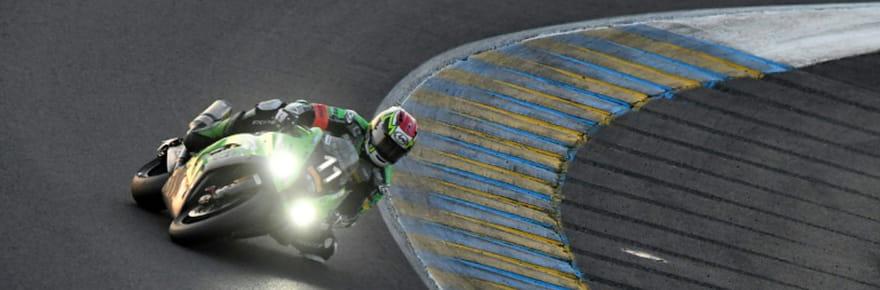 24Heures Motos: Kawasaki résiste à Honda à quatre heures de l'arrivée