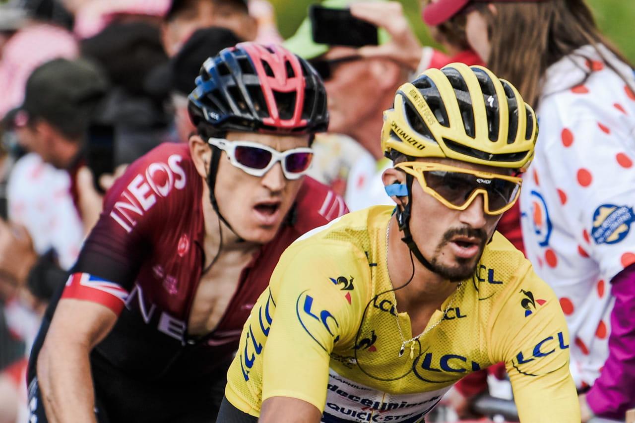 Tour de France: victoire d'étape pour Alaphilippe! Le classement de la 13e étape