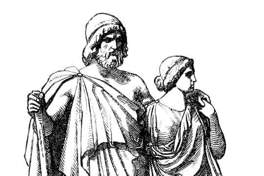 Oedipe: biographie et résumé du mythe d'Oedipe, roi de Thèbes