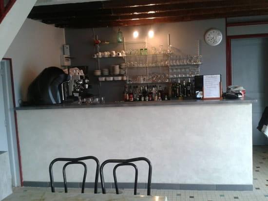 Restaurant : Le Champ de Foire  - Petit coin bar -